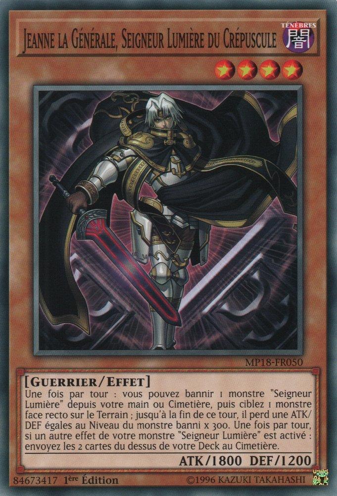 Jeanne la Générale, Seigneur Lumière du Crépuscule