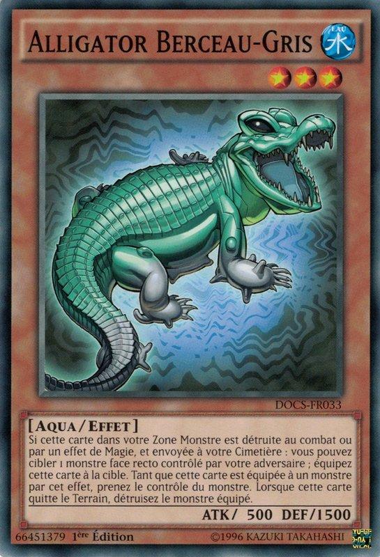 Alligator Berceau-Gris