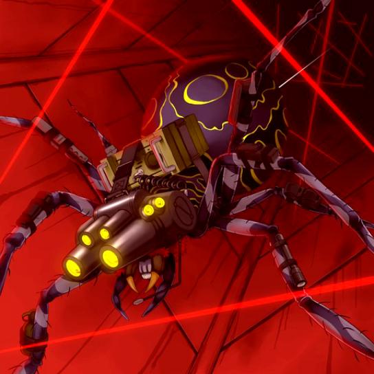 Araignée Sniper