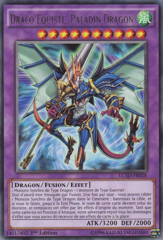 Draco Equiste, Paladin Dragon