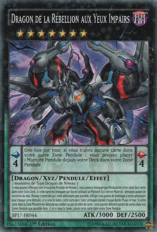 Dragon de la Rébellion aux Yeux Impairs