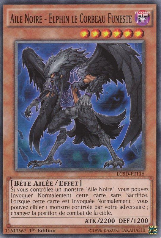 Aile Noire - Elphin le Corbeau Funeste