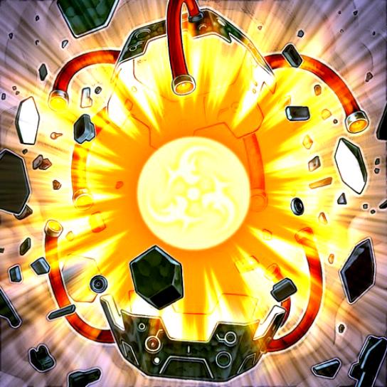 Explosion du Noyau d'Énergie
