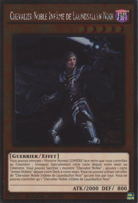 Chevalier Noble Infâme de Laundsallyn Noir