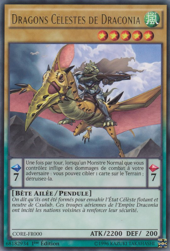 Dragons Célestes de Draconia