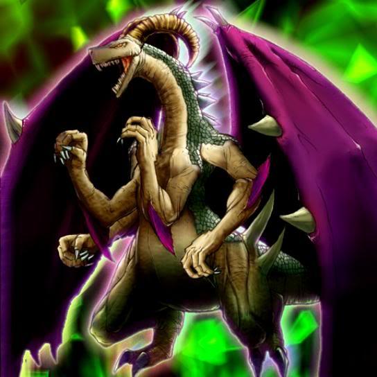 Dragon Crâne Démon