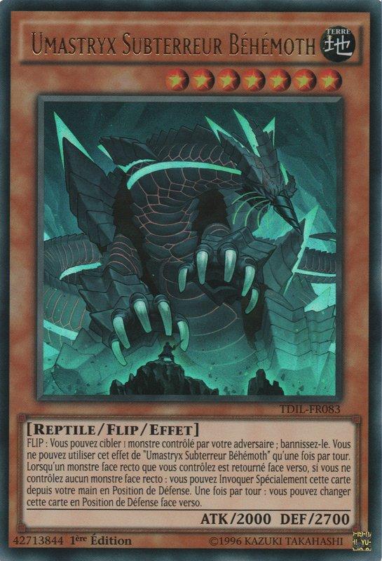 Umastryx Subterreur Béhémoth