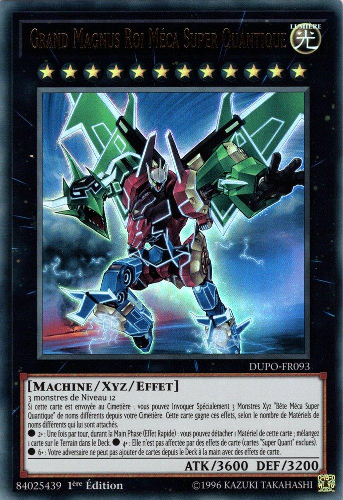 Grand Magnus Roi Méca Super Quantique