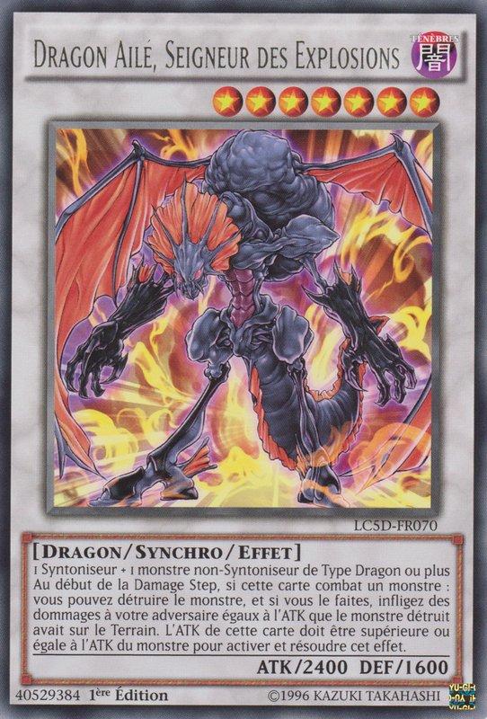 Dragon Ailé, Seigneur des Explosions