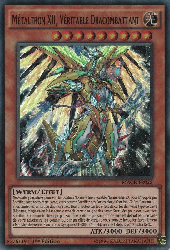 Métaltron XII, Véritable Dracombattant