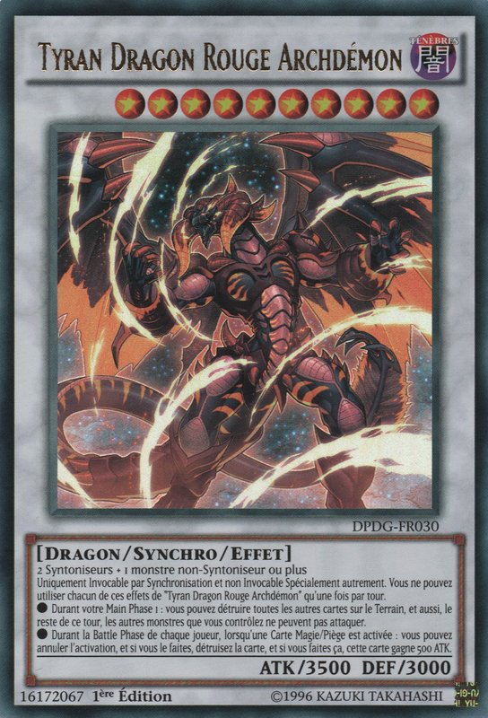 Tyran Dragon Rouge Archdémon
