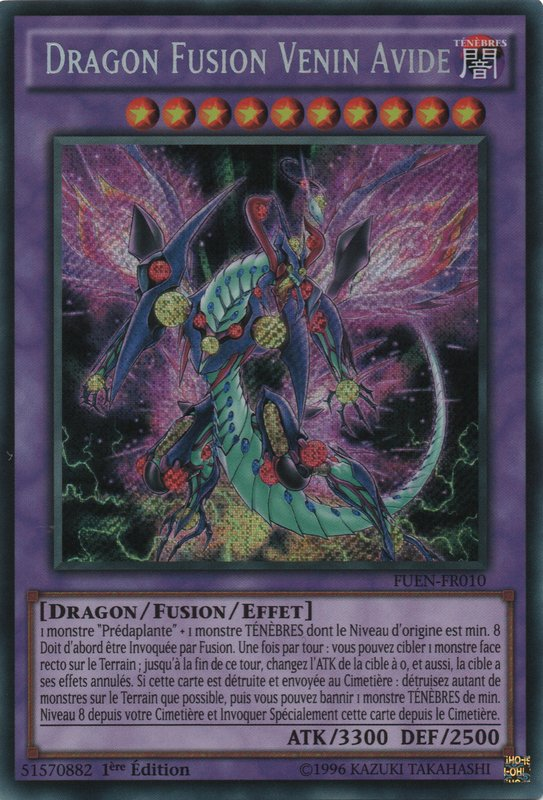 Dragon Fusion Venin Avide