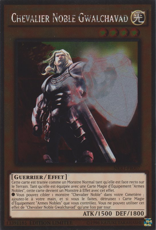 Chevalier Noble Gwalchavad