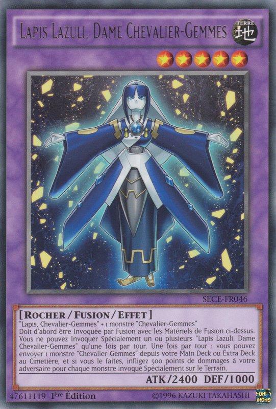 Lapis Lazuli, Dame Chevalier-Gemmes