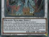 Dragon Argent aux Yeux Azur