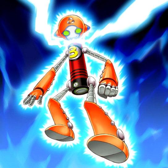 Homme-Batterie AA