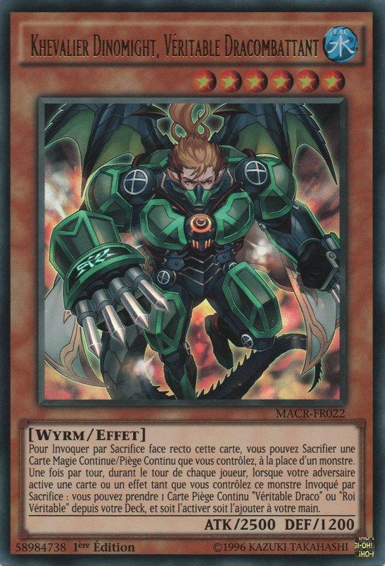 Khevalier Dinomight, Véritable Dracombattant