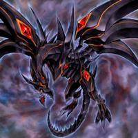 Dragon des Ténèbres aux Yeux Rouges
