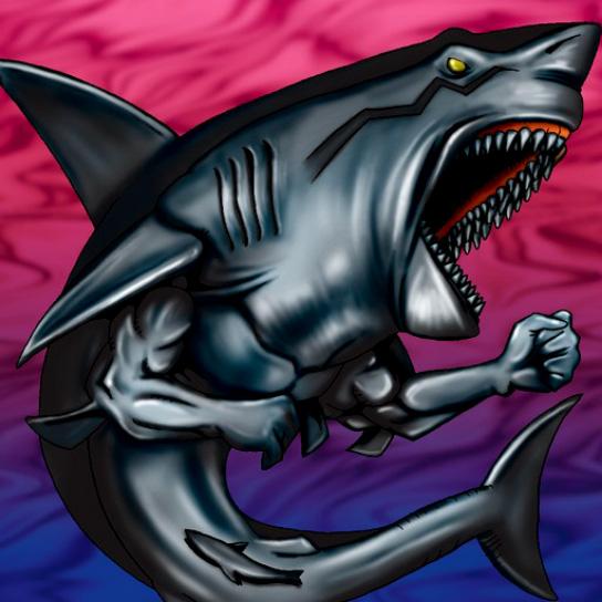 Requin Noir Mangeur d'Hommes