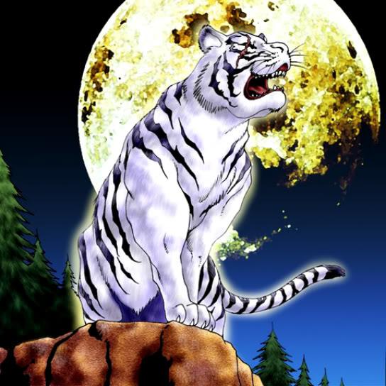 Le Tigre Blanc Clairvoyant