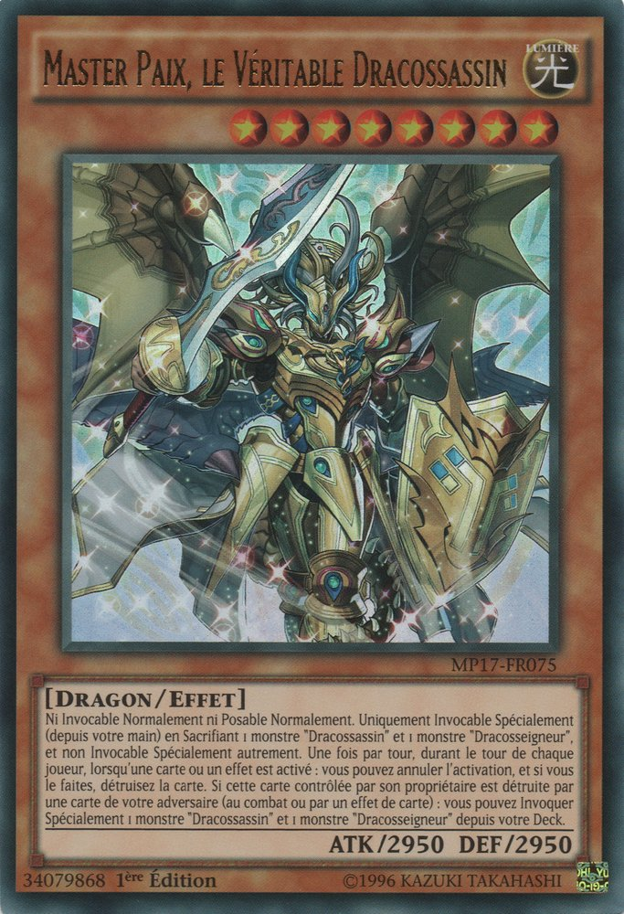 Master Paix, le Véritable Dracossassin