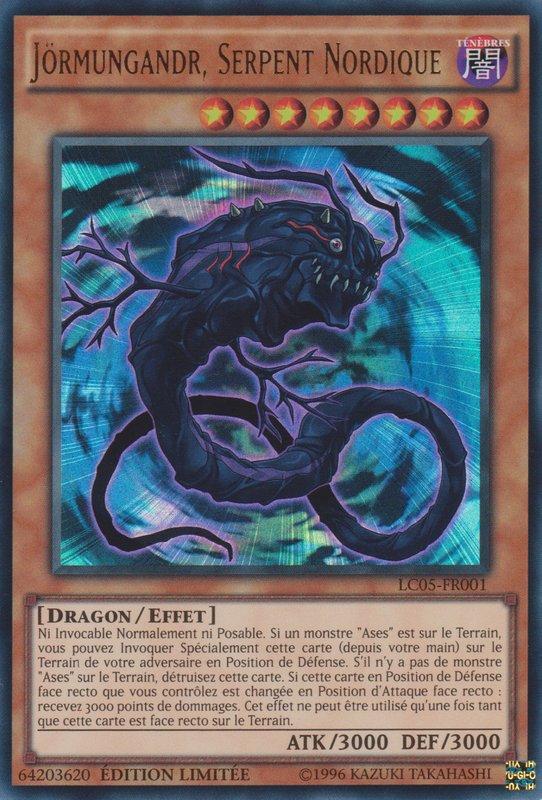 Jörmungandr, Serpent Nordique