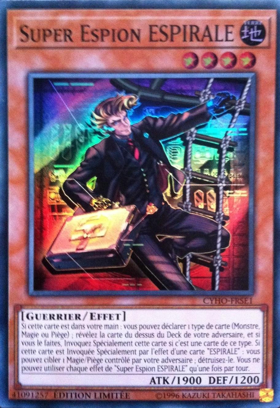 Super Espion ESPIRALE