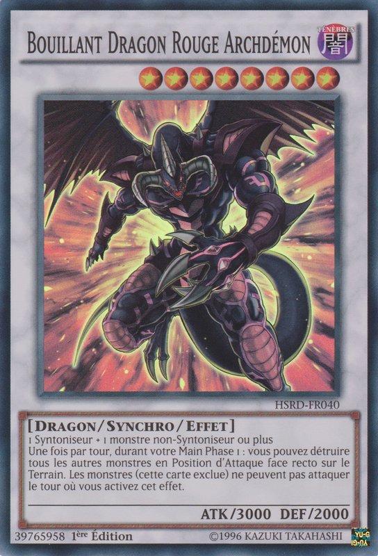 Bouillant Dragon Rouge Archdémon