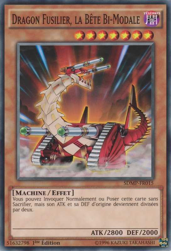 Dragon Fusilier, la Bête Bi-Modale