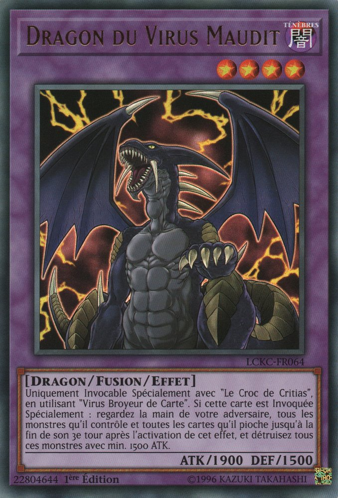 Dragon du Virus Maudit