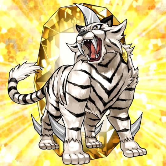 Bête Cristalline: Tigre de Topaze