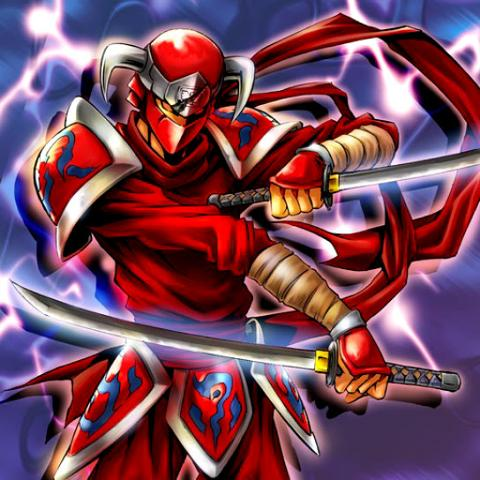 Ninja Cramoisi