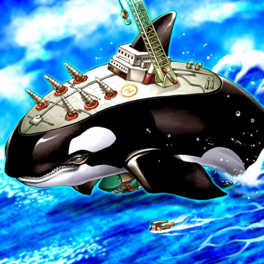 Orca, Méga Forteresse des Ténèbres