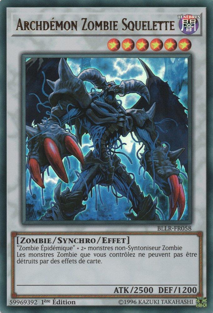 Archdémon Zombie Squelette