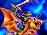 Dragon Épée Alligator