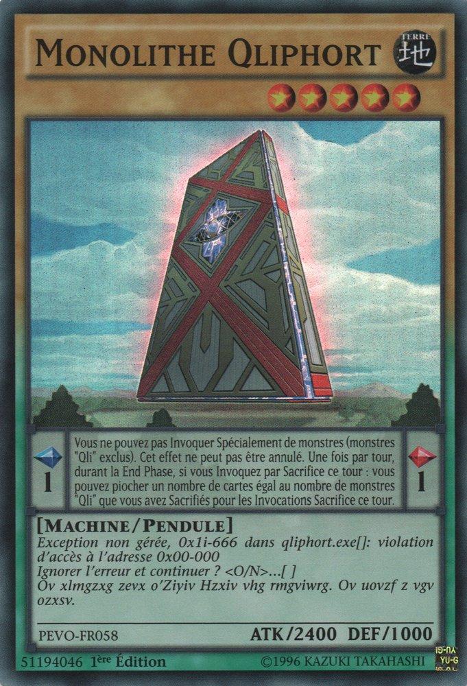 Monolithe Qliphort
