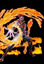 Edition YuGiOh ha01-de008 Flamvell-Magician 1