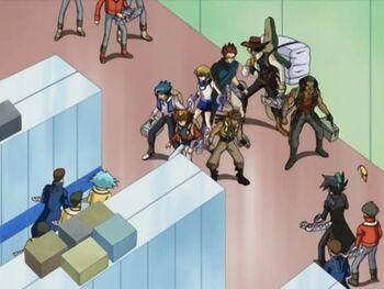 Yu-Gi-Oh! GX - Episode 122