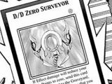 D/D Zero Surveyor