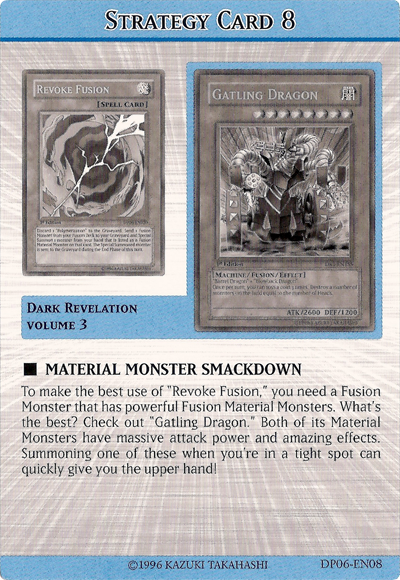 Material Monster smackdown