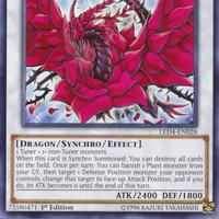 Carte YU GI OH DRAGON ROSE NOIRE DUDE-FR010