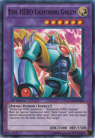 Evil HERO Lightning Golem