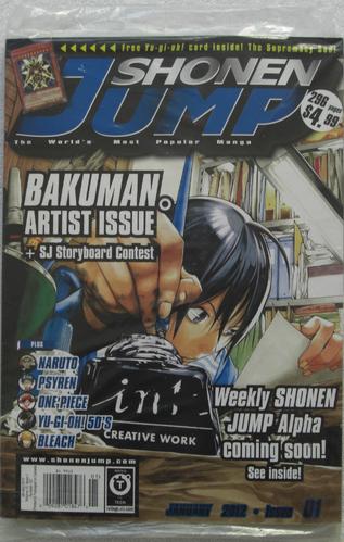 <i>Shonen Jump</i> Vol. 10, Issue 1