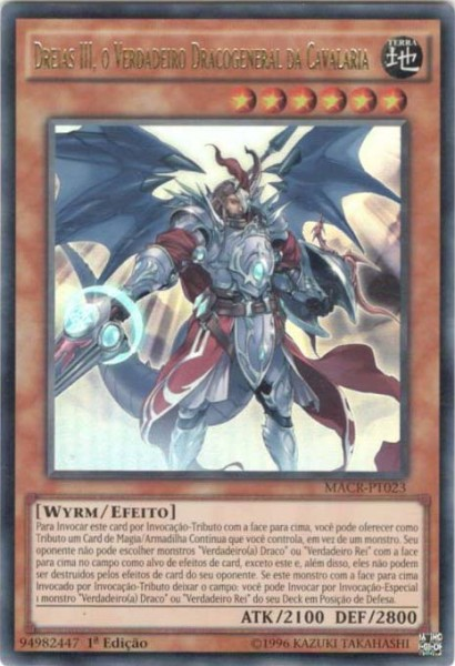 Dreiath III, the True Dracocavalry General