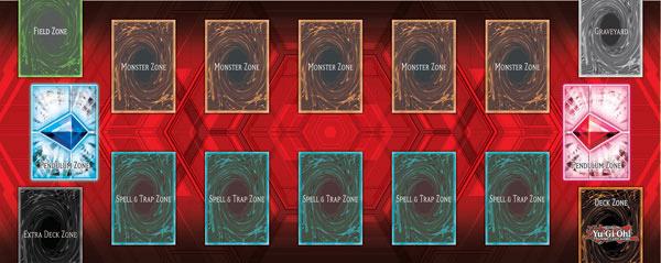 A Game Mat including Pendulum Zones