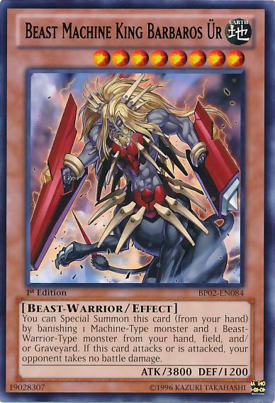 Beast Machine King Barbaros Ür