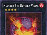 Number 58: Burner Visor
