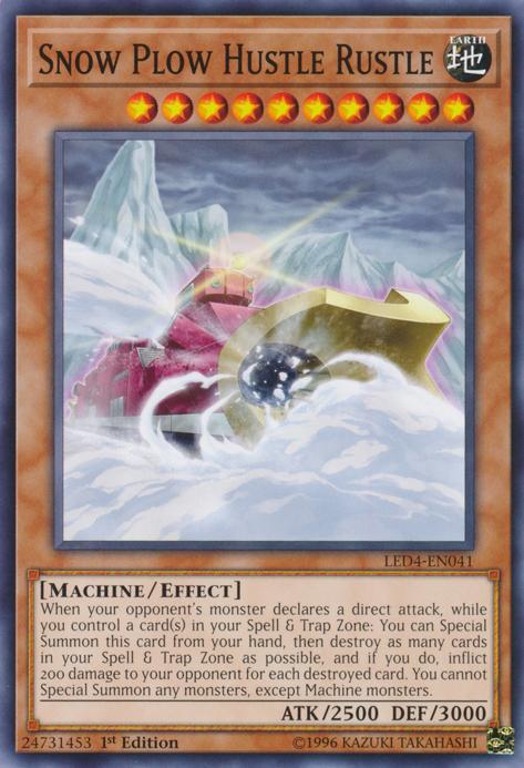 Snow Plow Hustle Rustle