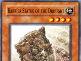 Barrier Statue of the Drought