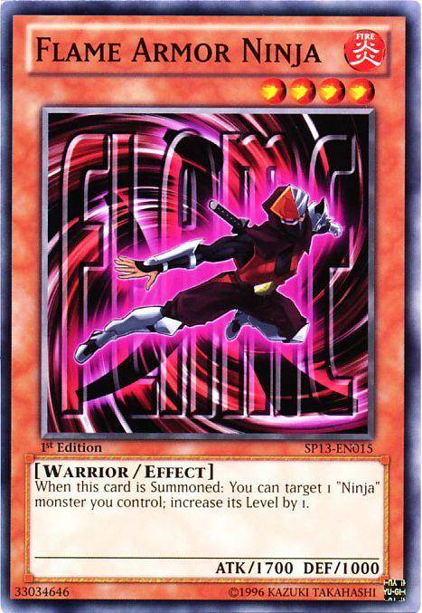 Flame Armor Ninja